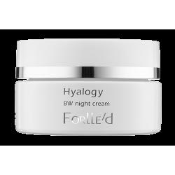 Forlle'd Hyalogy BW night cream -  Rozjaśniający Krem Przeciwstarzeniowy Na Noc